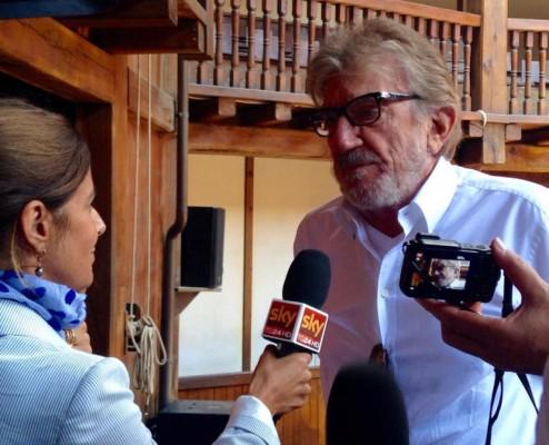 Gigi Proietti, direttore artistico del Globe