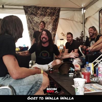 L'incontro con i Foo Fighters
