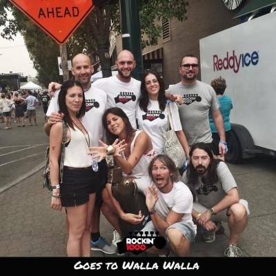 La crew a Walla Walla