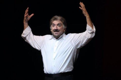 Gigi Proietti, direttore artistico del Globe Theatre