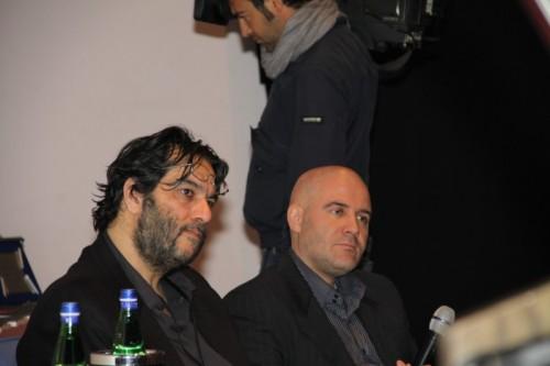 Leopoldo Santovincenzo (a sinistra)