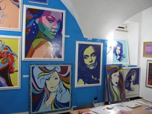 I quadri di Rita Intermite
