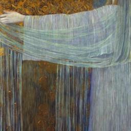 Wilhelm List L'offerta (Il miracolo delle rose), 1907 Olio su tela, 162,5 x 82 cm Quimper, Collection du Museé des Beaux‐Arts © Musée des Beaux‐Arts, Quimper