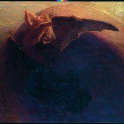 Gaetano Previati Il giorno sveglia la notte, 1905 Olio su tela, 180 x 211 cm Trieste, Museo Civico Revoltella © Archivi Alinari, Firenze