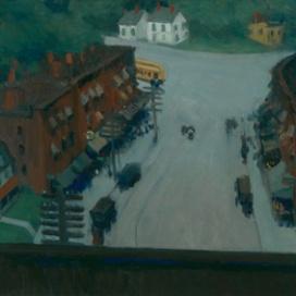 Edward Hopper (1882 1967) American Village (Cittadina americana) 1912 Olio su tela, 66x96,8 cm New York, Whitney Museum of American Art; Lascito di Josephine N. Hopper © Heirs of Josephine N. Hopper, Licensed by Whitney Museum of American Art