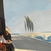 Edward Hopper (1882 1967) Le Bistro or The Wine Shop (La bottega del vino) 1909 Olio su tela, 61x 73,3 cm New York, Whitney Museum of American Art; Lascito di Josephine N. Hopper © Heirs of Josephine N. Hopper, Licensed by Whitney Museum of American Art