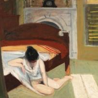 Edward Hopper (1882 1967) Summer Interior (Interno d'estate) 1909 Olio su tela, 61,6x74,1 cm New York, Whitney Museum of American Art; Lascito di Josephine N. Hopper © Heirs of Josephine N. Hopper, Licensed by Whitney Museum of American Art