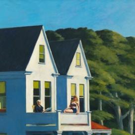 Edward Hopper (1882 1967) Second Story Sunlight (Secondo piano al sole) 1960 Olio su tela, 102,1x127,3 cm New York, Whitney Museum of American Art; acquisizione con i fondi dei Friends of the Whitney Museum of American Art © Whitney Museum of American Art, N.Y.