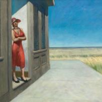 Edward Hopper (1882 1967) South Carolina Morning (Mattino in South Carolina) 1955 Olio su tela, 77,2x102,2 cm New York, Whitney Museum of American Art; donato in memoria di Otto L. Spaeth dalla sua famiglia © Whitney Museum of American Art, N.Y.