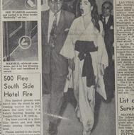 6_Chicago American, 18 novembre 1955 con l'articolo Goodby Chicago! Screams Callas ©