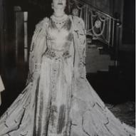 9_Maria Callas come Imperatrice d'Egitto all'Imperial Ballo al Waldorf Astoria, New York 15 gennaio 1957 ©