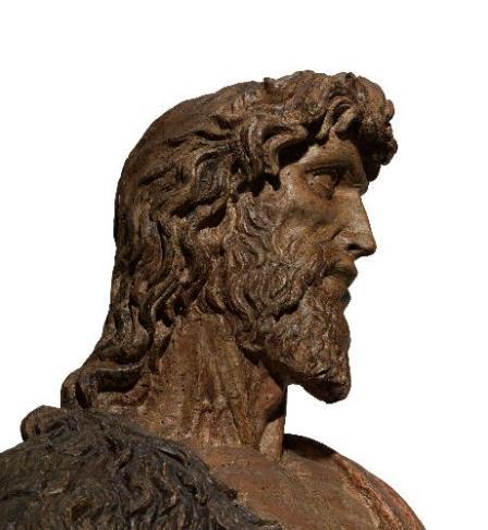 Francesco da Sangallo, Battista, legno dipinto
