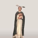 Donatello (Firenze 1386 circa – 1466) San Pietro martire 1440-1450 circa Legno intagliato e dipinto Fabriano (Ancona), chiesa di San Domenico