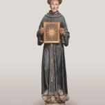 Lorenzo di Pietro detto il Vecchietta (Siena 1410 – 1480) San Bernardino da Siena 1460-1464 Legno intagliato e dipinto, Firenze, Museo nazionale del Bargello