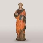 Andrea Guardi (Firenze 1405 circa – Pisa 1476) Santa Margherita d'Antiochia 1465 circa Legno intagliato e dipinto, Pisa, Museo nazionale di San Matteo