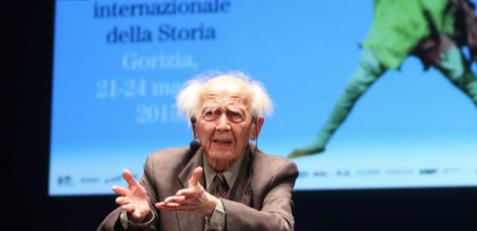 Zygmunt Bauman, ospite nel 2015