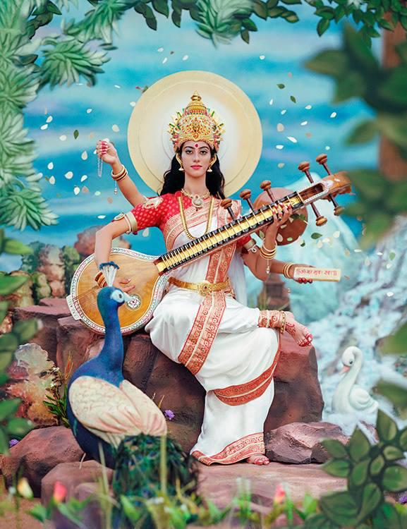 Manjari-Sharma-Maa-Saraswati-1