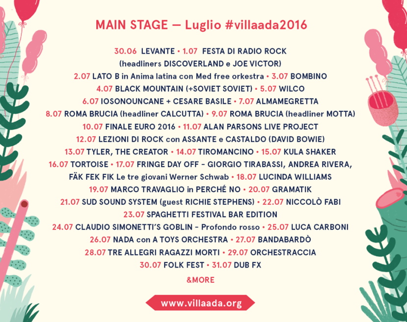 Villa Ada Concerti Roma