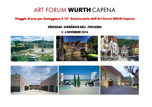 Art-Forum-Würth-Capena-viaggio-germania-2016-4
