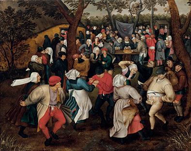 Pieter-Brueghel-il-Giovane-Danza-nuziale-all'aperto-1