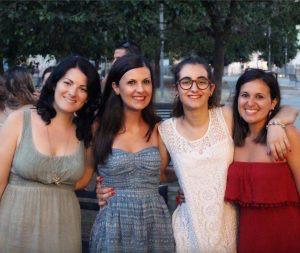Lo staff: Lavinia Marnetto, Francesca Del Vicario, Eleonora Marsella e Federica Girardi (© Federica Girardi Photo - https://www.facebook.com/FedericaGirardiPhoto/)