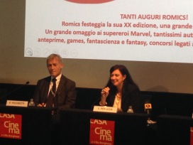 Pietro Piccinetti e Sabrina Perucca