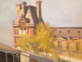 Edward Hopper (1882 1967)Le Pavillon de Flore1909Olio su tela, 60x73,2 cmNew York, Whitney Museum of American Art; Lascito di Josephine N. Hopper© Heirs of Josephine N. Hopper, Licensedby Whitney Museum of American Art (particolare)