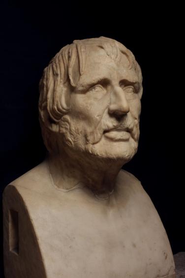 Erma del cosiddetto Pseudo-Seneca Prima metà II secolo d.C. Roma Musei Capitolini