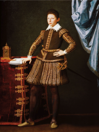 Tiberio Titi (Firenze 1573-1627) Ritratto di CosimoII de'Medici 1604 circa olio su tela Firenze, Gallerie degli Uffizi, Galleria degli Uffizi