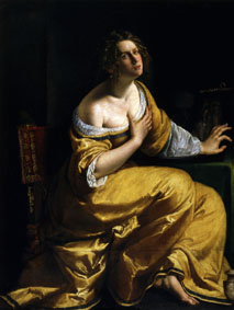 Artemisia Gentileschi La conversione della Maddalena, 1616-17 ca. Olio su tela, 146,5x108 cm Firenze, Gallerie degli Uffizi © Gabinetto Fotografico delle Gallerie degli Uffizi