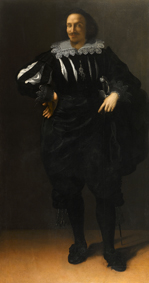 Artemisia Gentileschi Ritratto di Antoine de Ville, 1627Olio su tela, 204,5x109,2 cm Collezione privata ©Art Photo Studio di Manusardi