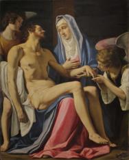 Filippo Tarchiani Pietà, 1618 Olio su tela, 146x114 cm Pistoia, chiesa Cattedrale di San Zeno © Giuseppe Marraccini
