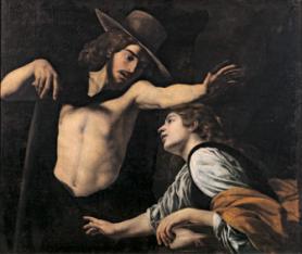 Battistello Caracciolo Noli me tangere, 1618 ca. Olio su tela, 130,5x190 cm Prato, Museo di Palazzo Pretorio Archivio immagini Museo di Palazzo Pretorio, Prato