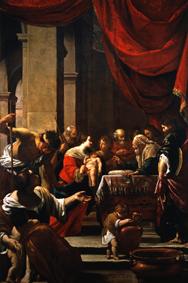 Giovanni Martinelli Le tre Grazie, 1635-40 ca. Olio su tela ovale, 81,5x65 cm Londra, Milano, Sankt Moritz, © Robilant + Voena