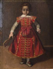 Alessandro Vitali Ritratto di Federico Ubaldo della Rovere bambino, 1607 Olio su tela, 96x67 cm Lucca, Museo Nazionale di Palazzo Mansi ©
