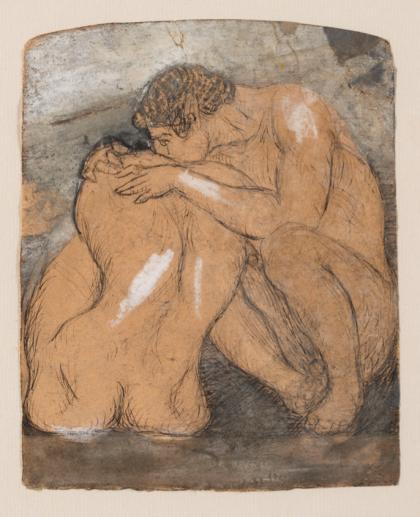 Giovanni Prini Amanti, 1904-5 inchiostro e tempera su carta cm 16x12,8 Collezione privata, Roma