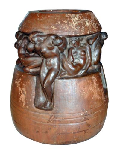Giovanni Prini La vita, 1912c. gesso patinato h cm. 41 Collezione privata, Roma