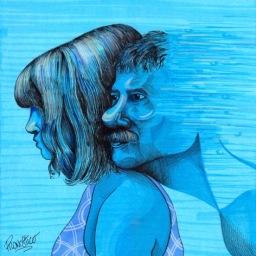 Iosonouncane – Diluvio (Cover dei Verdena) Di nuovo scompaio se te ne vai, insieme noi siamo pari.