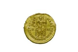 Denaro aureo di Prisco Attalo (409 d.C.)
