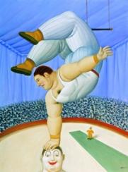 Fernando Botero Contorsionista, 2008 Olio su tela; 135x100 cm