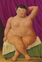 Fernando Botero Donna seduta, 1997 Olio su tela; 134x92 cm