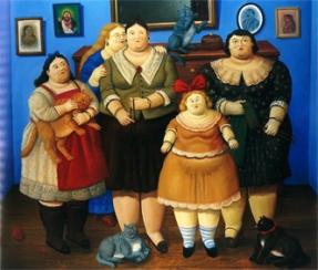 Fernando Botero Le sorelle, 1969-2005 Olio su tela; 173x204 cm