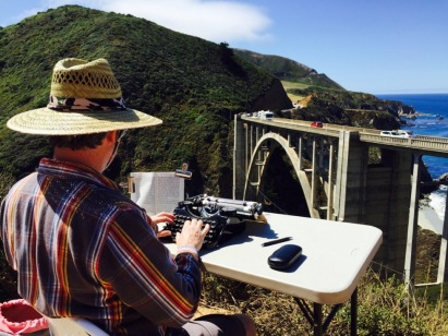 05_Tim Youd retyping Jack Kerouac's Big Sur_2015
