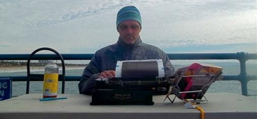 07_Tim Youd retyping Raymond Chandler's Farewell, My Lovely_2014