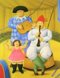 Fernando Botero Musici, 2008 Olio su tela; 178x100 cm
