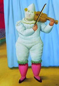 Fernando Botero Pagliaccio, 2008 Olio su tela; 145x100 cm