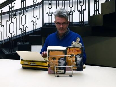 14_Tim Youd, Retyping Orton_South Library_2017_©EKCO-010