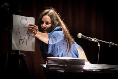 """Maria Chiara Tofone, """"Tre once di lana nera"""" (Foto: © Pietro Ciavattini)"""