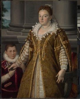Alessandro Allori (Firenze, 1535 – 1607) Bianca Cappello con il figlio Antonio Post 1582 – ante 1587 Olio su tela, cm 128, 4 x 100, 5 Dallas, The Dallas Museum of Art