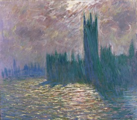 MMT 155332 Parliament, Reflections on the Thames, 1905 (oil on canvas) Monet, Claude (1840-1926) MUSEE MARMOTTAN MONET, PARIS, ,